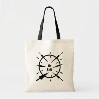 No Exit Budget Tote Bag