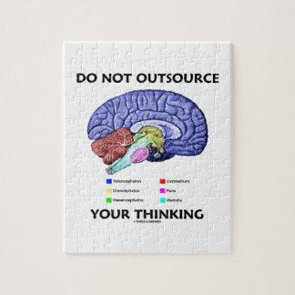 No externalice su pensamiento (la anatomía del puzzle