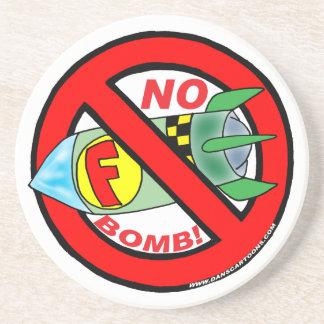 NO F-BOMB! COASTERS