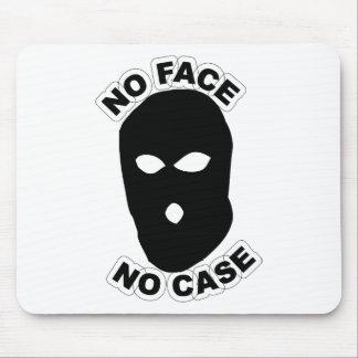 No Face No Case Mouse Pad