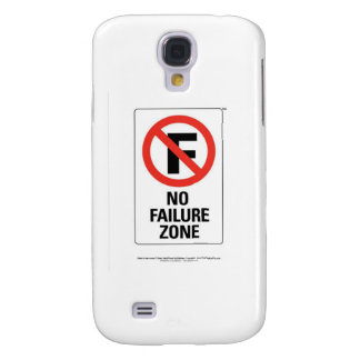 No FAILURE Zone - with Info Line.jpg Galaxy S4 Case