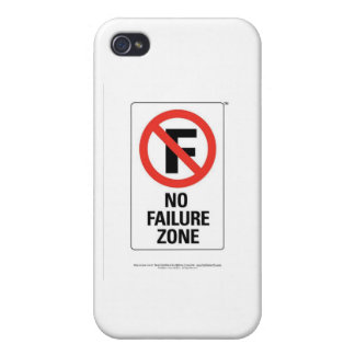 No FAILURE Zone - with Info Line.jpg Cover For iPhone 4