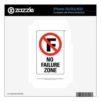 No FAILURE Zone - with Info Line.jpg iPhone 3G Skin
