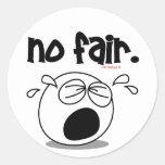 NO FAIR STICKER