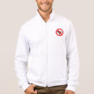 No Fart Printed Jacket