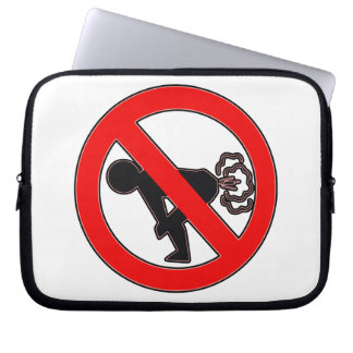 NO FART ZONE LAPTOP SLEEVE