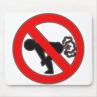 No Fart Zone Mouse Pad