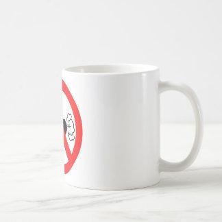 No Fart Zone Classic White Coffee Mug