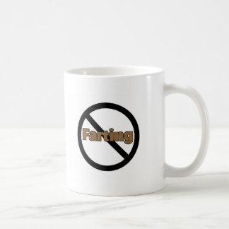 No Farting Coffee Mug