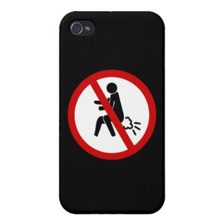 NO Farting ⚠ Funny Thai Toilet Sign ⚠ iPhone 4 Cover