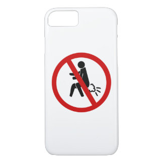 NO Farting ⚠ Funny Thai Toilet Sign ⚠ iPhone 8/7 Case
