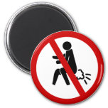 NO Farting ⚠ Funny Thai Toilet Sign ⚠ Refrigerator Magnets