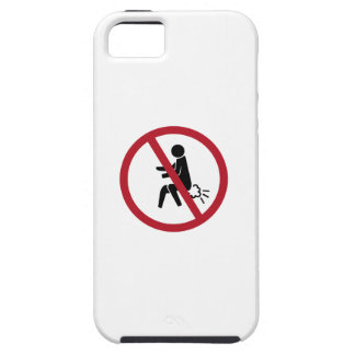 No Farting Sign, Thailand iPhone 5 Cases