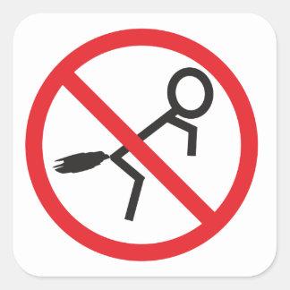 No Farting sticker