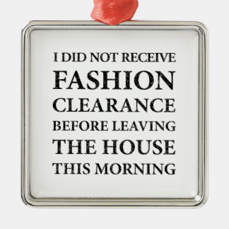 No Fashion Clearance Black Christmas Ornament