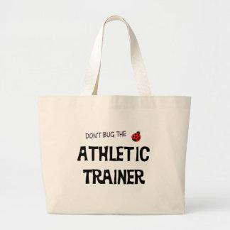 No fastidie el bolso atlético del instructor bolsa tela grande