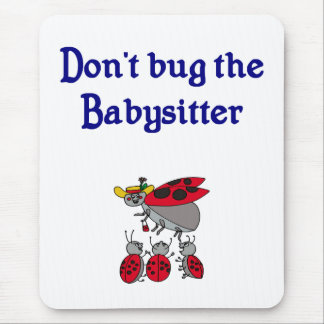 No fastidie el cojín de ratón de la nin@era mouse pads