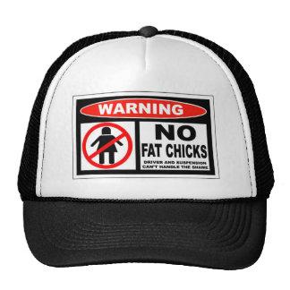 no fat chicks trucker hat