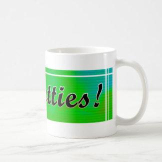 No Fatties Classic White Coffee Mug