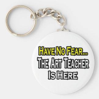 No Fear...Art Teacher Keychain