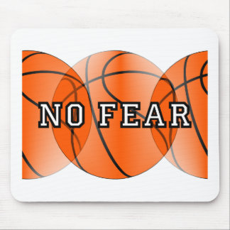 no fear basketball mouse pad
