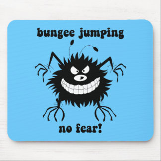 no fear bungee jumping mouse pad