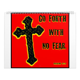 No Fear Calendar