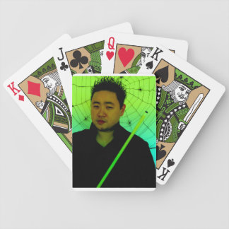 No fear in Jade Bicycle Playing Cards