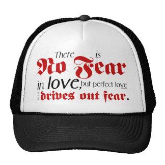 No Fear in Love Mesh Hats