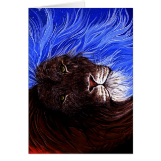 No Fear in these eyes Greeting Card