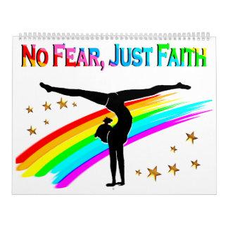 NO FEAR, JUST FAITH GYMNASTICS CALENDAR