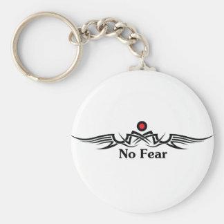 No Fear Keychain