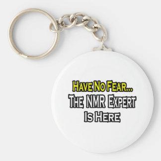 No Fear...NMR Expert Basic Round Button Keychain
