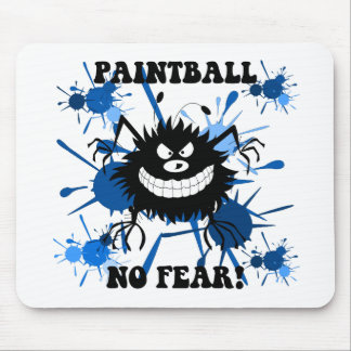 No fear paintball mouse pad