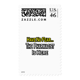 No Fear Pharmacist Stamps