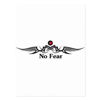 No Fear Postcard