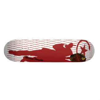 NO FEAR! Red Star Skateboards