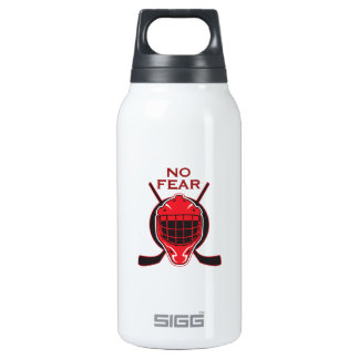 NO FEAR 10 OZ INSULATED SIGG THERMOS WATER BOTTLE