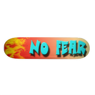 NO FEAR SKATEBOARD DECK