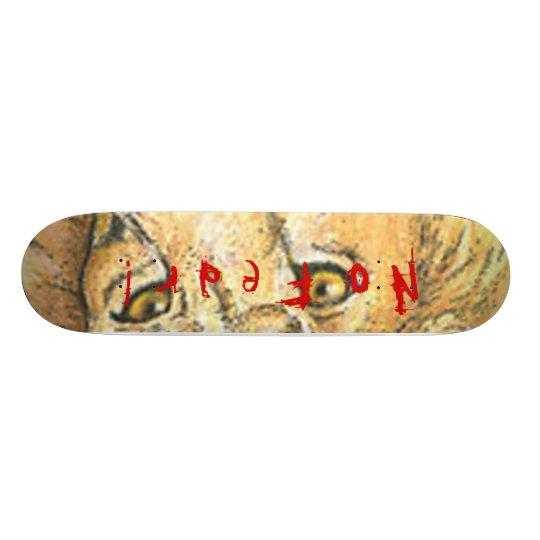 No Fear! Skateboard Deck