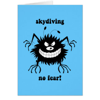 no fear skydiving cards