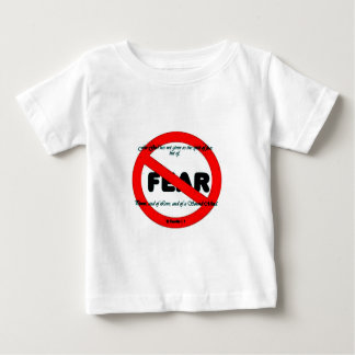 No fear stamped shirt