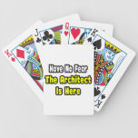 No Fear, The Architect Is Here Card Deck