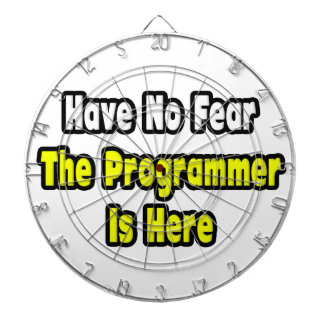 No Fear, The Programmer Is Here Dart Boards