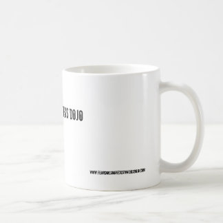 no fear = this dojo (mug)