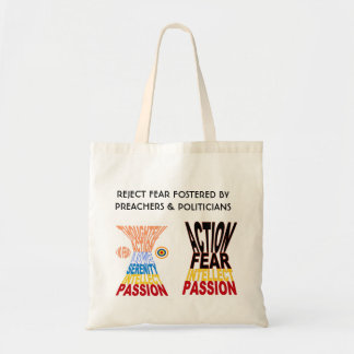 No Fear - Thoughtful Action Tote Bag