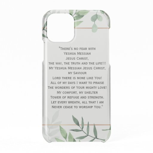 No Fear With Jesus iPhone 11 Pro Case