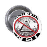 No Federal Reserve 2 Inch Round Button