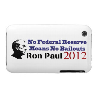 No Federal Reserve Means No More Bailouts iPhone 3 Case