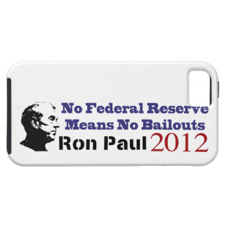 No Federal Reserve Means No More Bailouts iPhone SE/5/5s Case